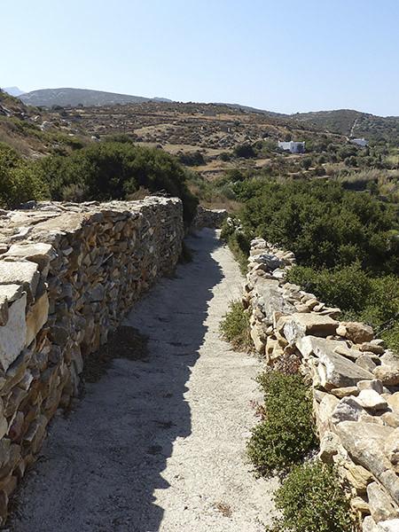 chemin vers l'aqueduc romain 2