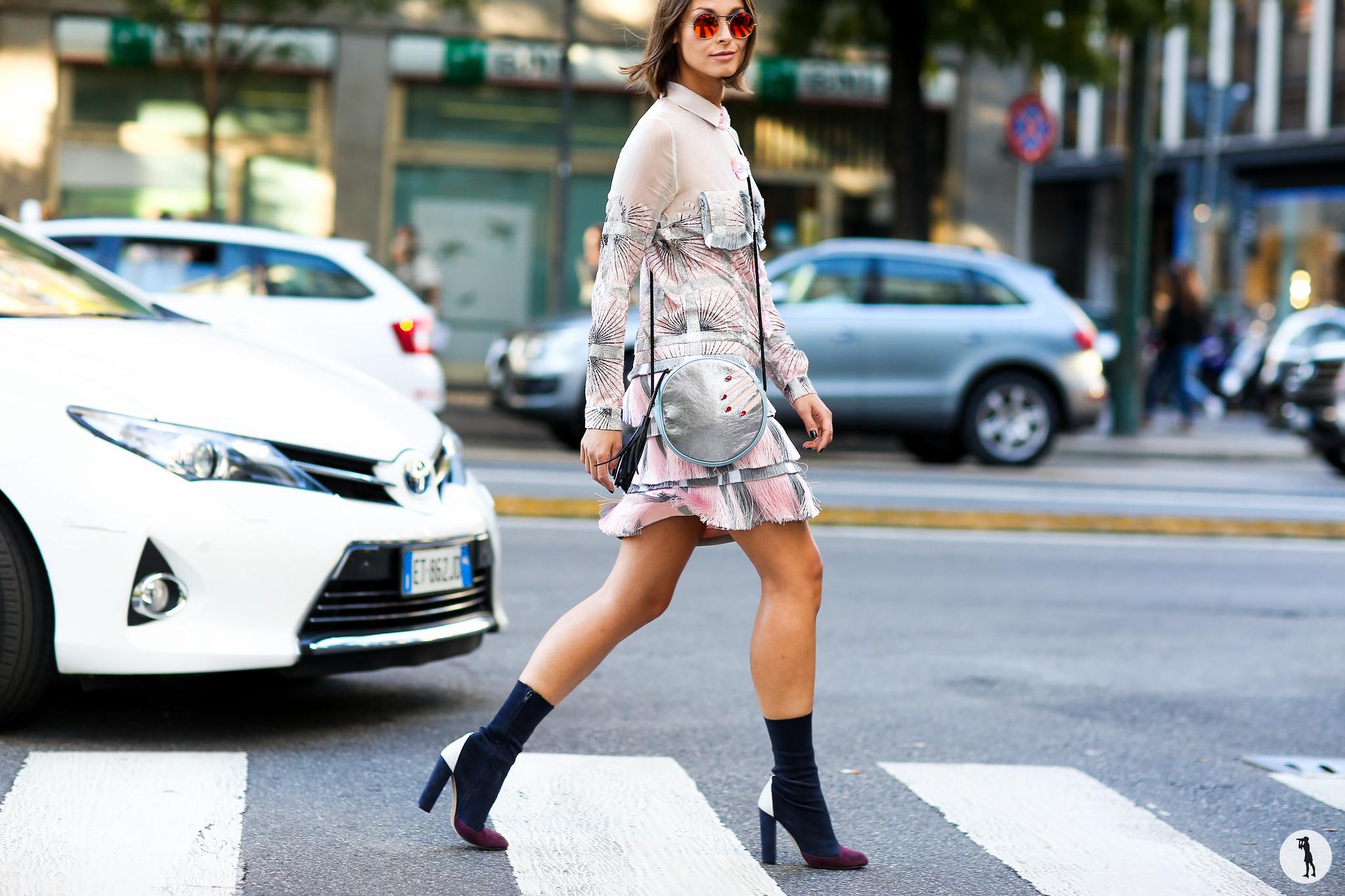 Kasia Borowicz at Milan Fashion Week-2