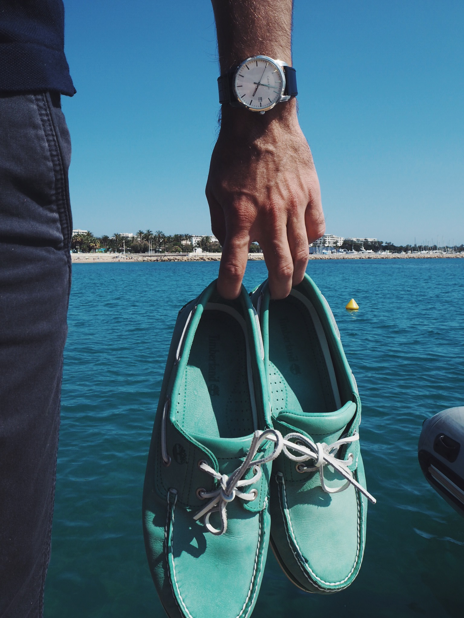 _ilcarritzi_timberland_cannes_saling_boat_dock_shoes_french_riviera_cote_d_azur_calvin_klein_watch_
