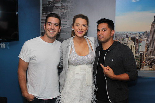 Blake Lively on the Covino & Rich Show