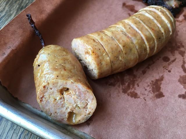 Thai chili cheddar sausage - Smokestack