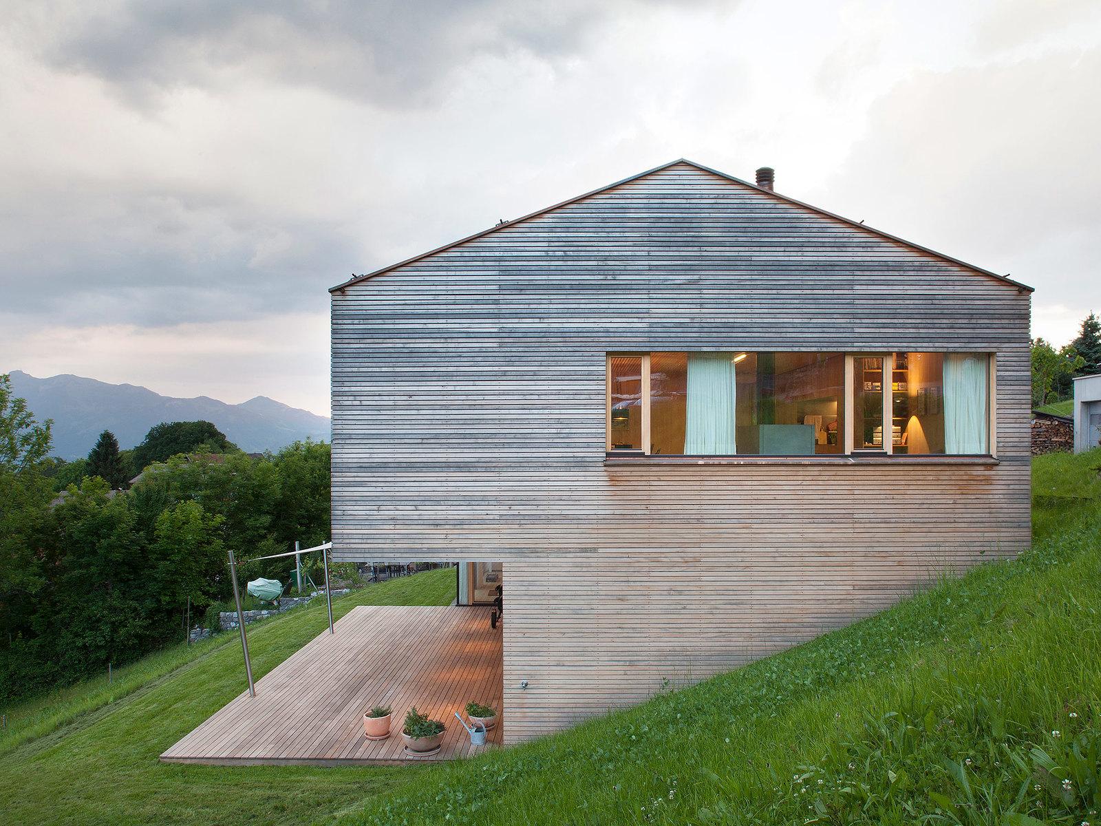 Деревянный дом в Цвишенвассере. Проект Dietrich | Untertrifaller