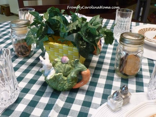 Everyday Tablescape ~ From My Carolina Home