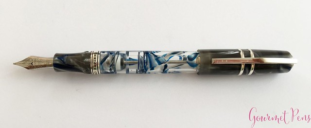 Review Visconti Homo Sapiens London Fog Fountain Pen @AppelboomLaren9