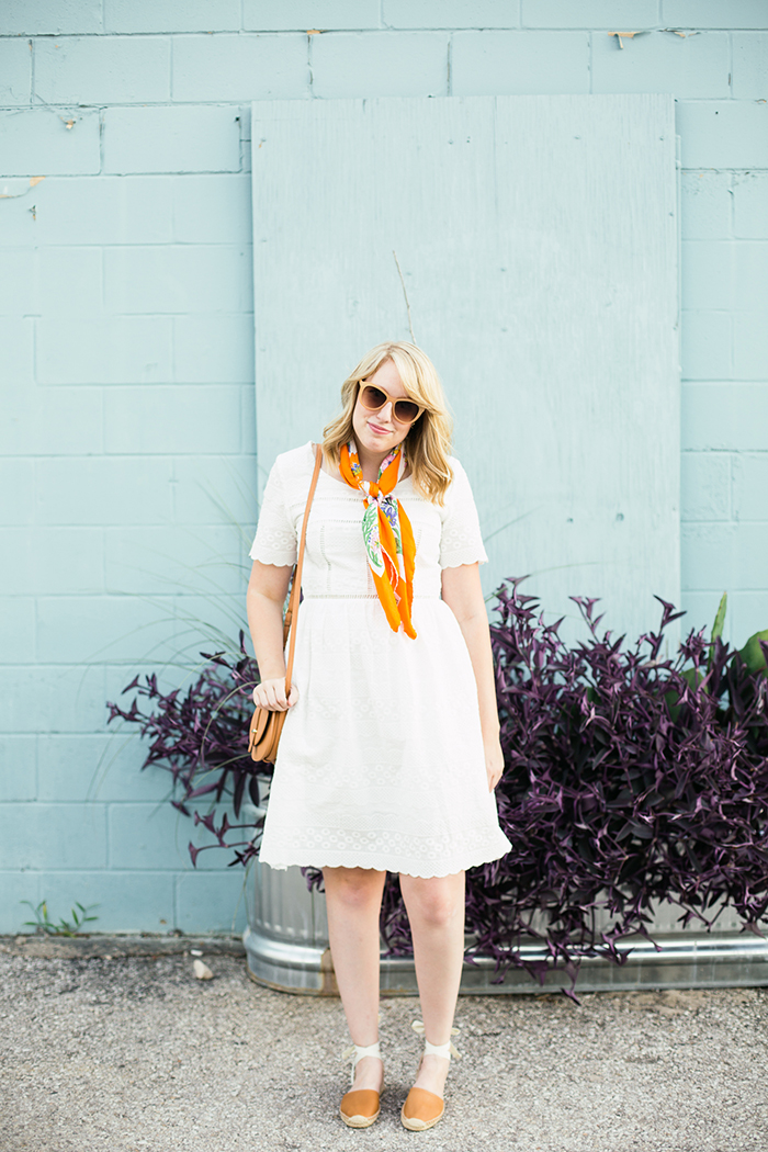 how to style your little white dress this summer