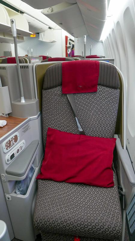 28159188100 73864704fa c - REVIEW - Garuda Indonesia : Business Class - Bali to Jakarta (B77W)