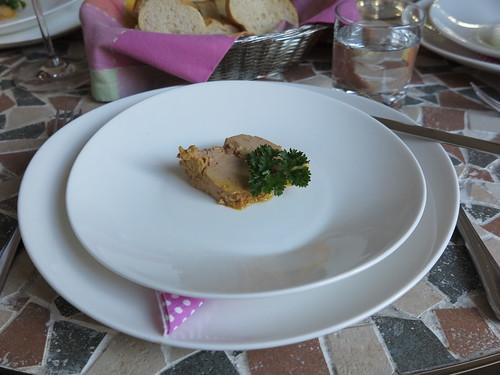 Foie Gras (Vorspeise bei französischem Menue)