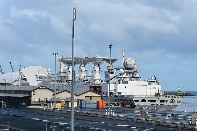 Chinese space tracking ship Yuan Wang 6 visited Fremantle in August 2016