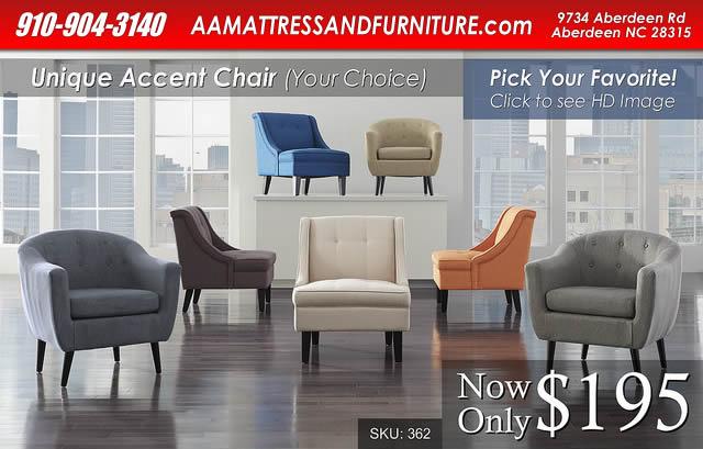 Accent Chair Lineup WM