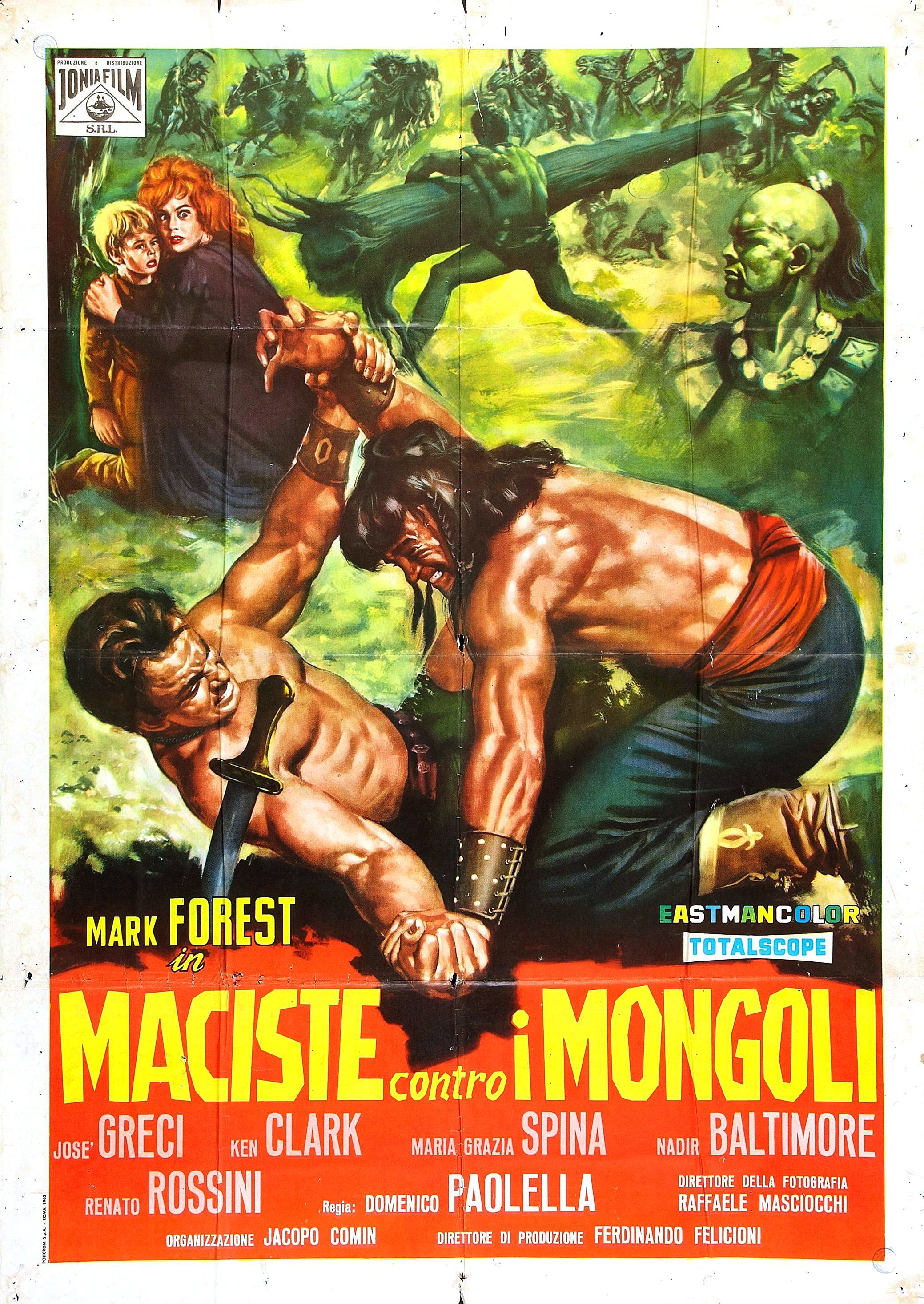 Hercules Against the Mongols (1963)