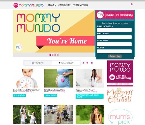 MM SG homepage