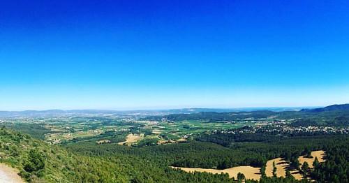 El #Penedès de #Gelida a #ElVendrell des del Santuari de Foix #TorrellesdeFoix