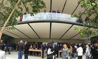 Apple Store - San Francisco Store balcony