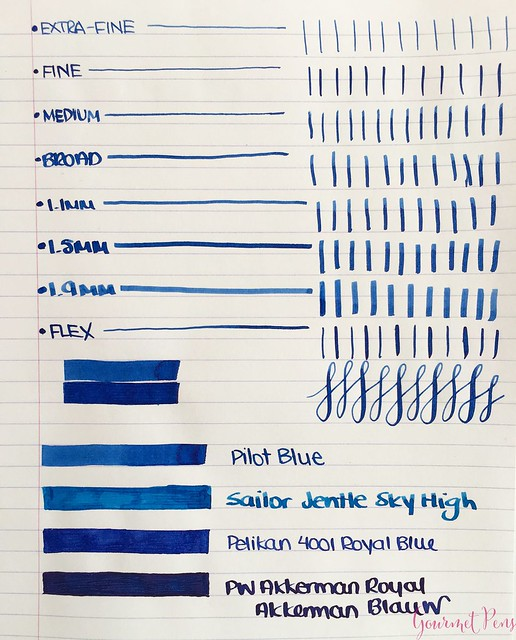 Ink Shot Review Pilot Blue deroostwit5