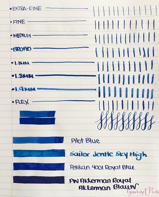 Ink Shot Review Pilot Blue deroostwit5