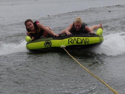 Isabel & Alex tubing