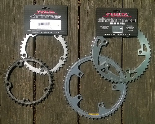 Vuelta chainrings