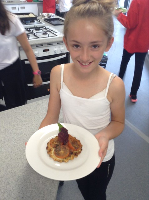 A celebration of Year 7 Culinary Arts learning