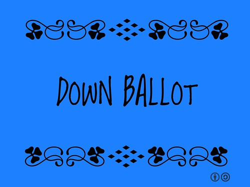 down ballot