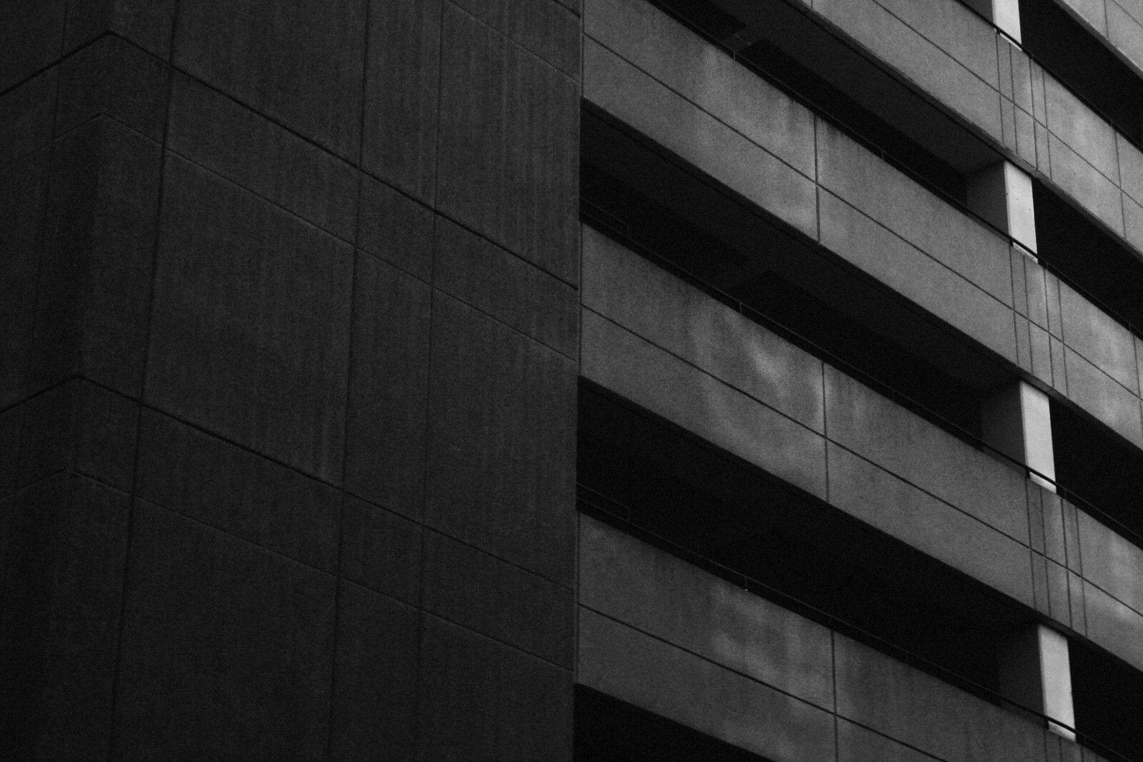 Parking Garage, Midtown, Atlanta, November 2014