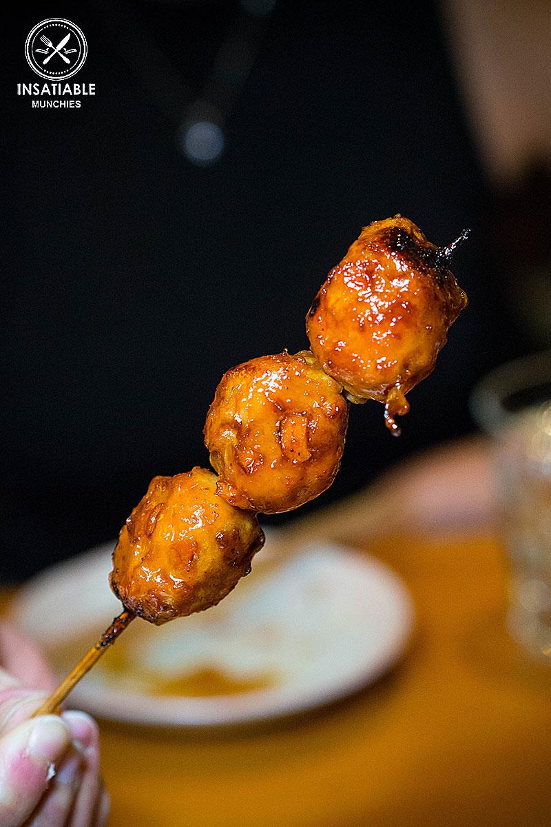 Tsukune (Yakitori): En Toriciya, Crows Nest. Sydney Food Blog Review