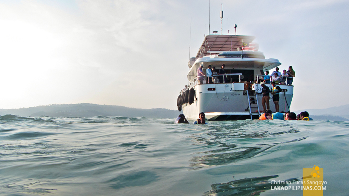 Langkawi Sunset Cruise Swim