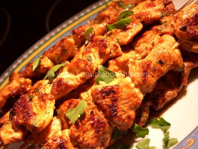 Brochettes de Dinde Epicées © Ana Luthi Tous droits réservés 6