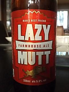 Minhas, Lazy Mutt Farmhouse Ale, USA
