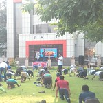 International Day of Yoga in Jabalpur 2016