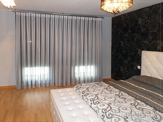 Cortinas modernas para dormitorio de matrimonio cabecero - Cortinas para miradores ...