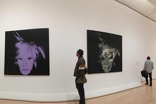 SF MoMA - Opening Andy Warhol Self Portraits