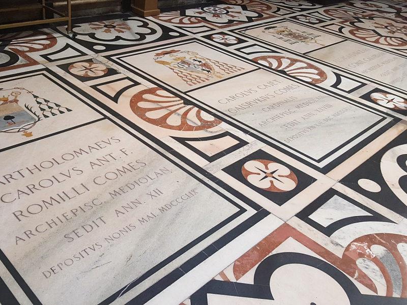 Milan Duomo floors
