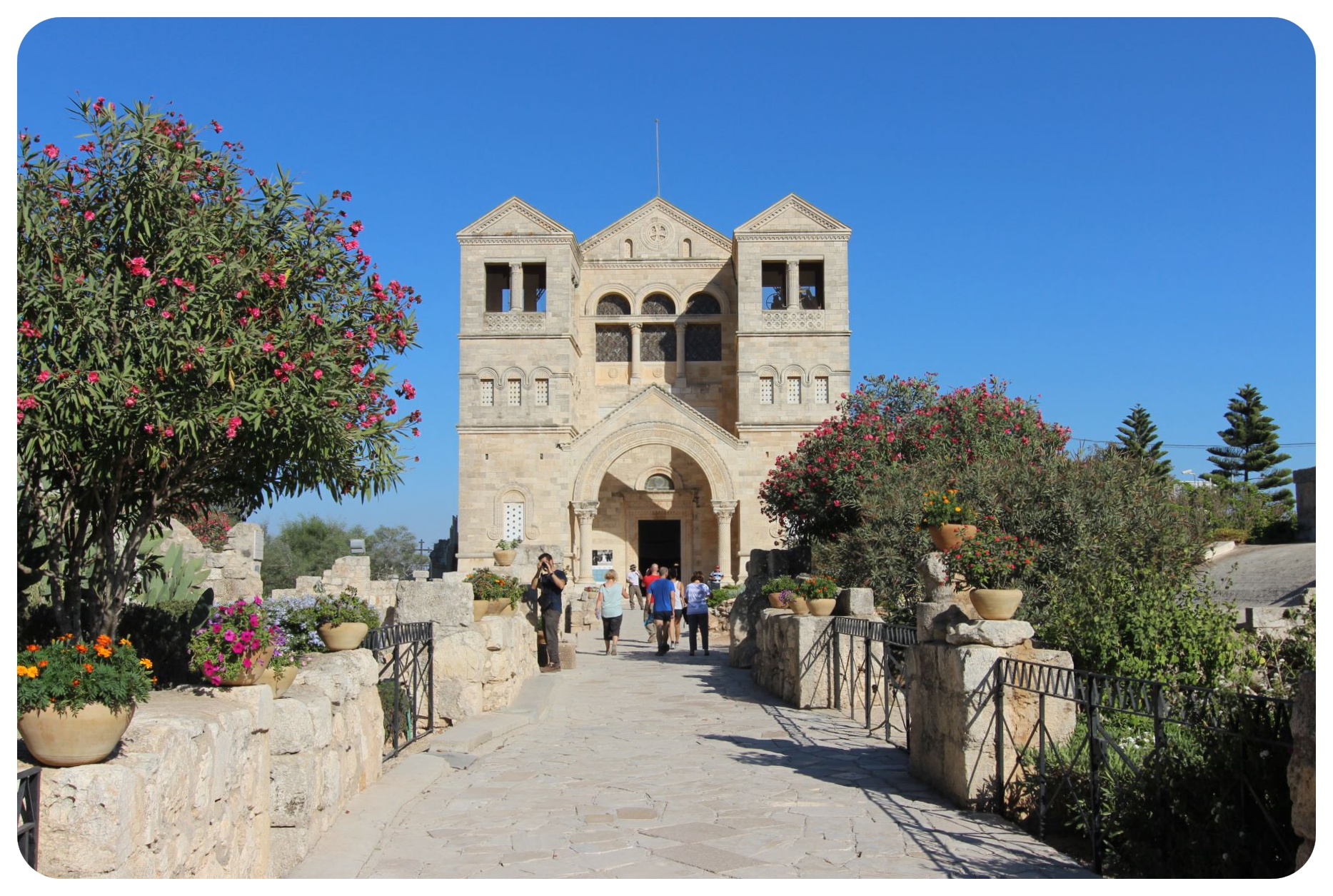 mount tabor church of the transfiguration