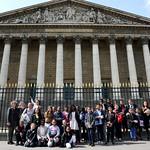 Visite de l'Assemblée Nationale par le CME