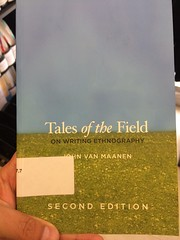 Tales of The Field (Van Maanen 2011)