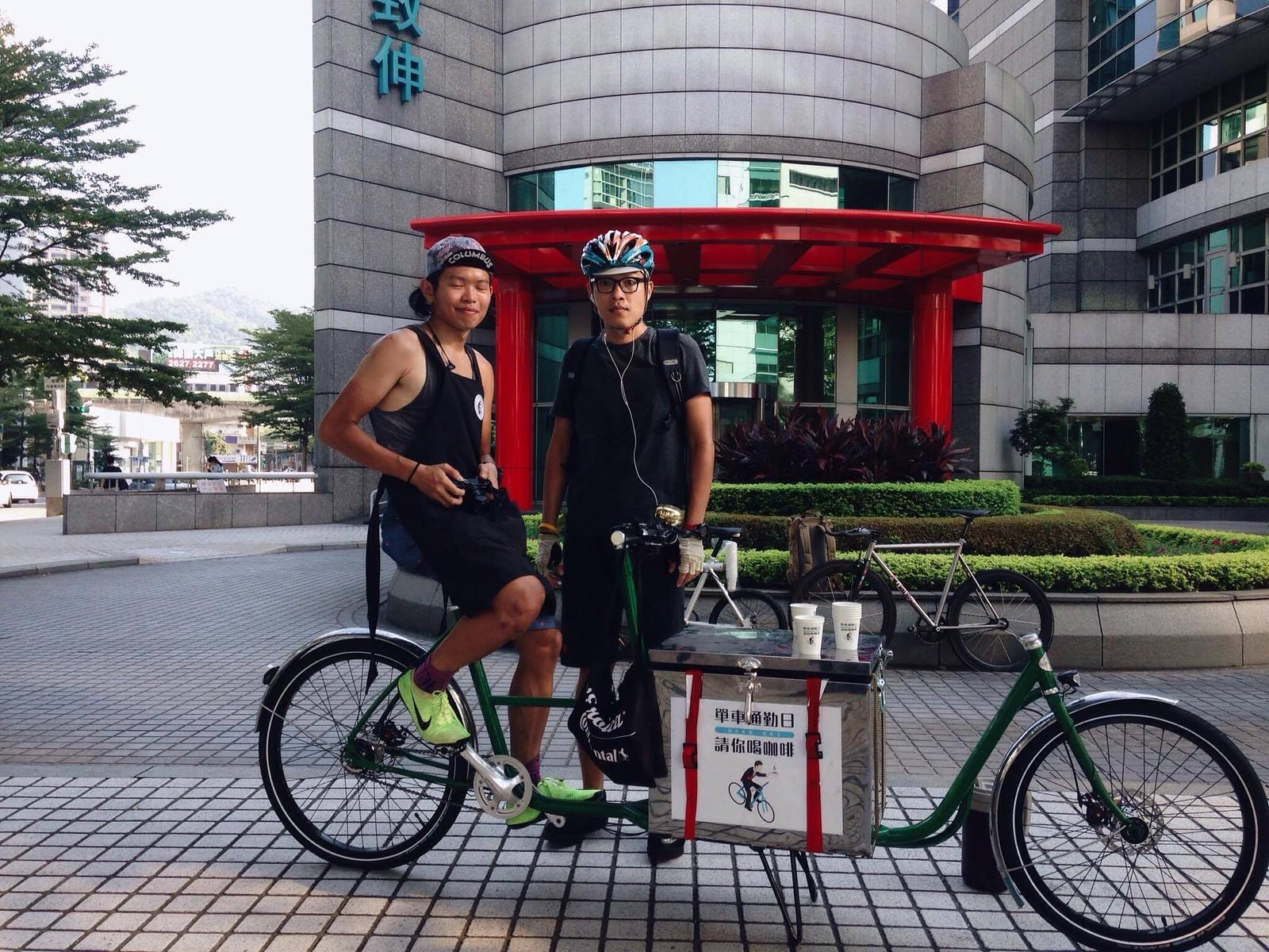 2016-08-26 單車通勤日 - 西湖 - 1