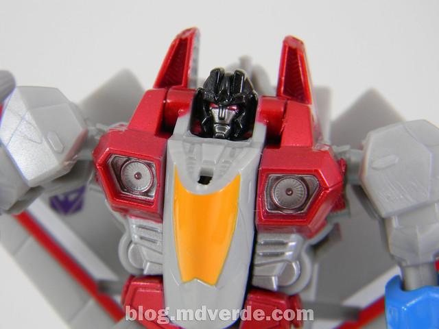 Transformers Starscream Legends - Transformers Generations Takara - modo robot