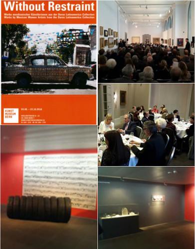 """Concurrida inauguración de la exposición """"Without Restraint"""" en el Museo de Arte de Berna"""