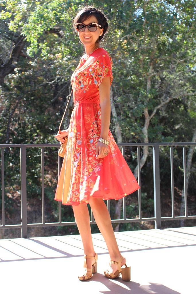 Vintage Red Dress 5