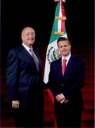 El Embajador Rubén Beltrán asume funciones como Embajador de México en Chile