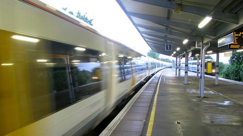 Folkestone departure