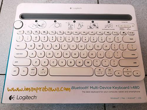 Review Keyboard Bluetooth Logitech K480 001