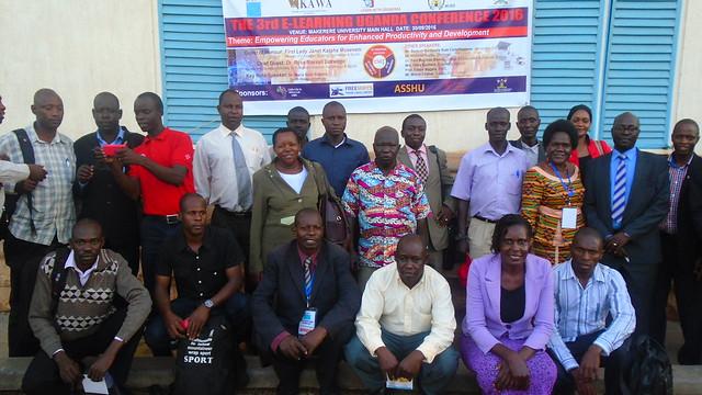 Elearners with facilitators