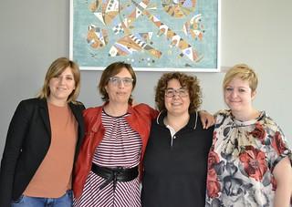 Con le colleghe Montalti, Prodi e Ravaioli, iscritte al Movimento Federalista Europeo
