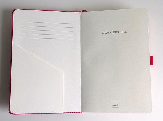 Bullet journal Conceptum front