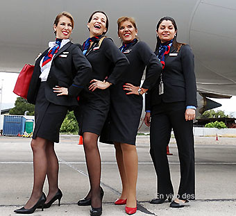 American Airlines TCP SCL nuevos uniformes (RD)