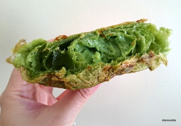 Matcha Patisserie Crème Croissant