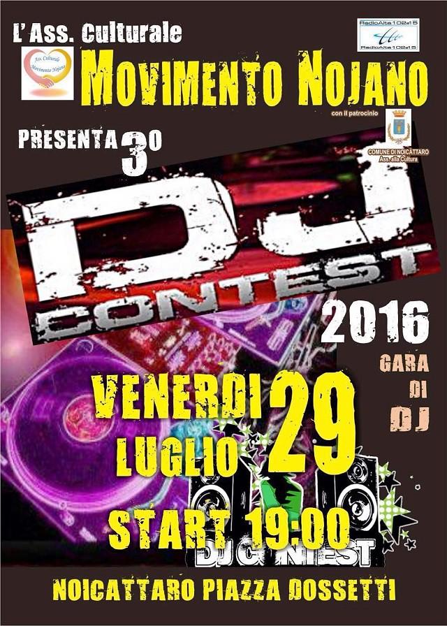 Noicattaro. Dj Contest 2016 intero