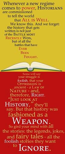 beware of history
