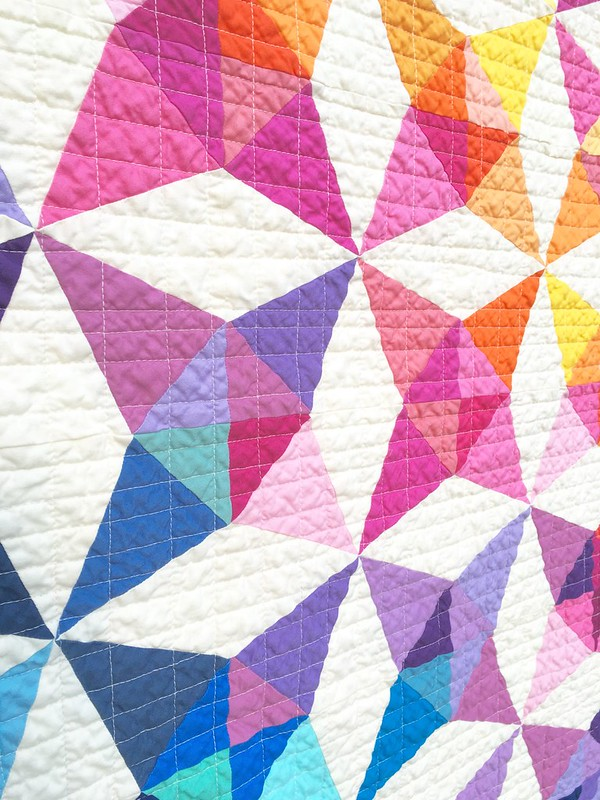 Summer Breeze Quilt - detail